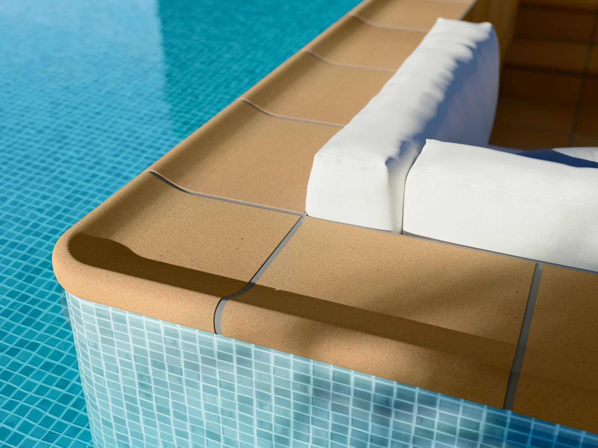 EXT DENIA Terraza piscina detalle - Baldosas para Piscinas: cómo Elegir las más Adecuadas