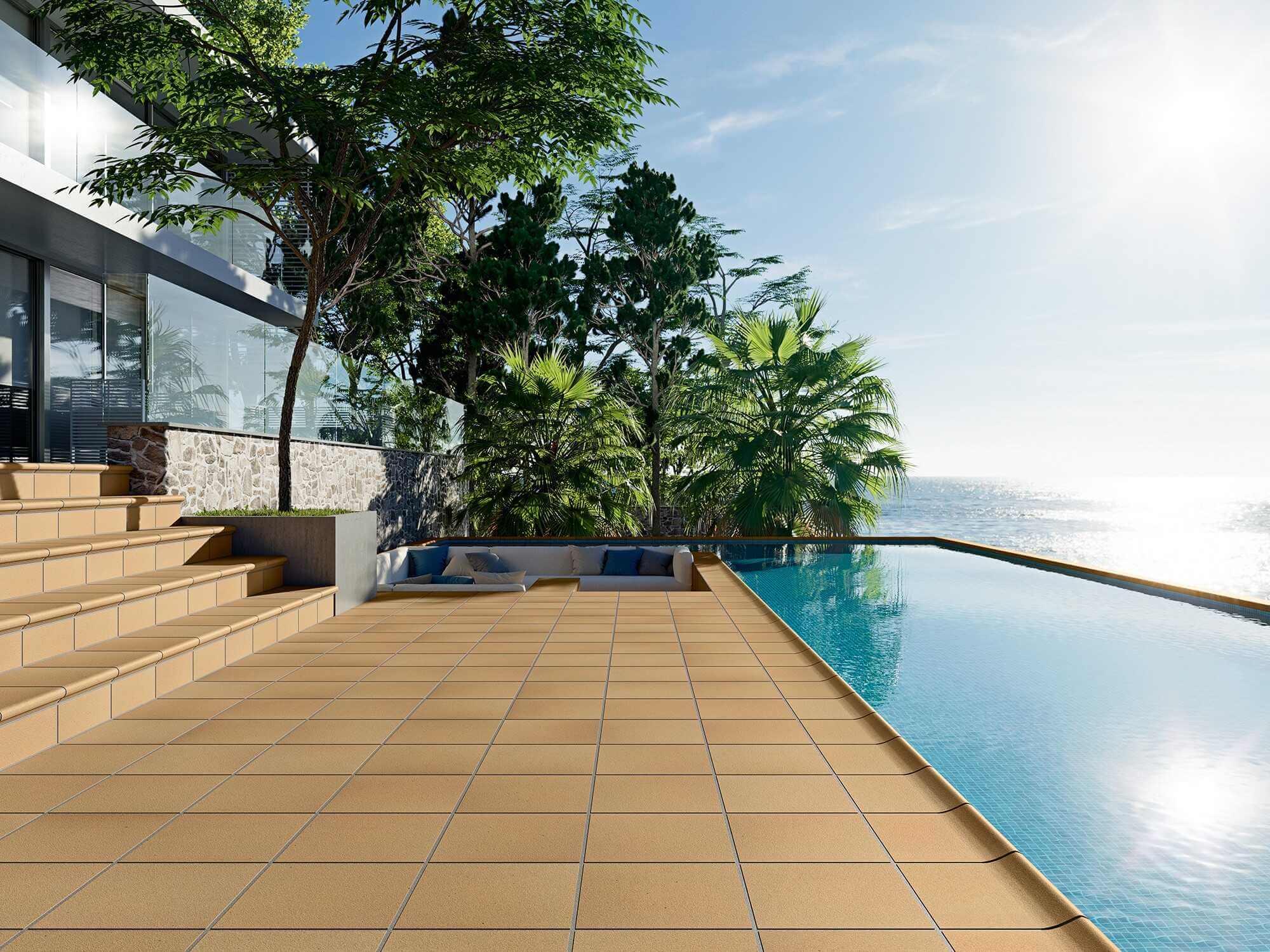 EXT DENIA Terraza piscina - Baldosas para Piscinas: cómo Elegir las más Adecuadas