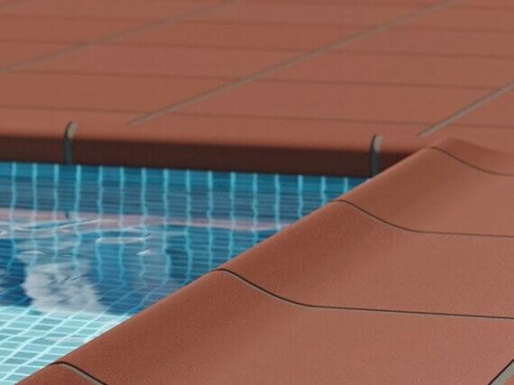 Suelo exterior piscina
