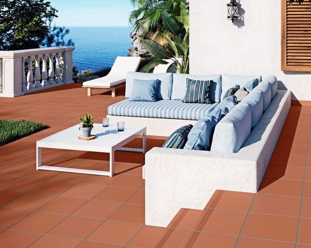 Suelos exterior terraza - Serie Leuca